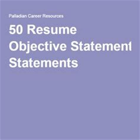 Project management sample resume objectives